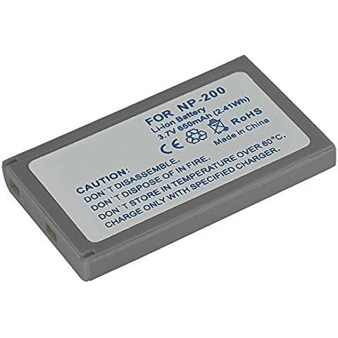 Batería NP-200 para Minolta Dimage X, Xi, Xg, Xt, Xt BIZ, Dimage Z