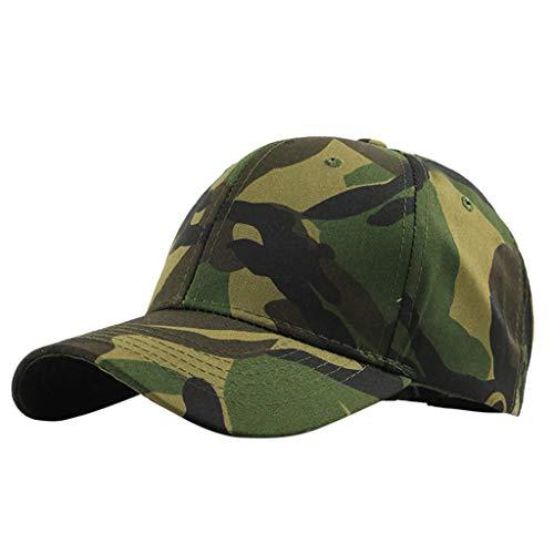 ll Cap, Basecap Unisex Baseball Kappen, Baseball Mützen für Draussen,Baseballkappe, Mütze Im Freien Tarnung Trucker Plain Baseball Visier Cap Papa Hut ()