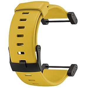 Bracelet montre Suunto Core élastomère jaune (SS018819000)