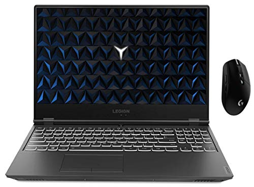 Lenovo Legion Y540 81SY00CKIN 15.6-inch Laptop (9th Gen CORE I5-9300H/8GB/512GB SSD/Windows 10 Home/4Gb NVidia GeForce GTX 1650 Graphics), Black with logitech Wireless Gaming Mouse