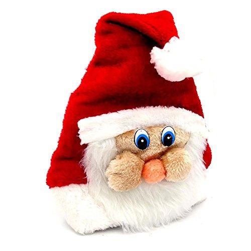 Facebook Kostüme (YUYU Weihnachten Kostüme Weihnachtsmütze Plüsch mit Facebook)