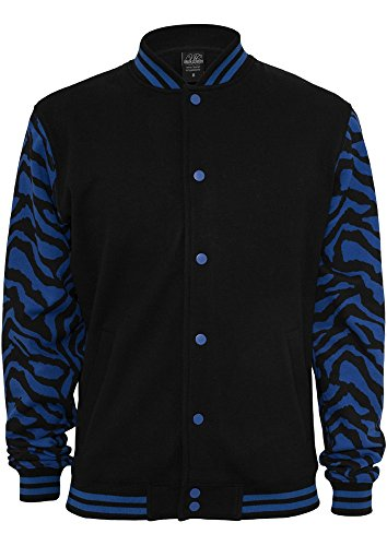 TB505 2-tone Zebra College Jacket Herren Jacke
