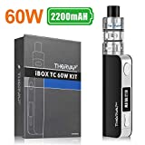 E Cigarette Vape Kit, TC 60W Box Mod Ecig Kit, 2200mah OLED Box
