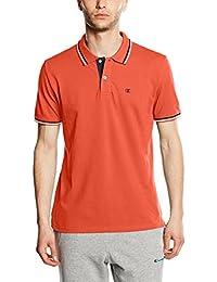 Champion 209599_S16 - Polo para hombre (talla XXL), color verde, hombre, Polo, naranja, medium
