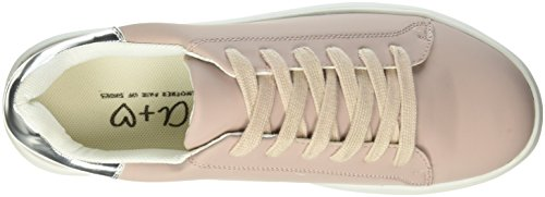 Another Pair of Shoes Tiae1, Baskets Basses Femme Beige (Dusty Pink1697)
