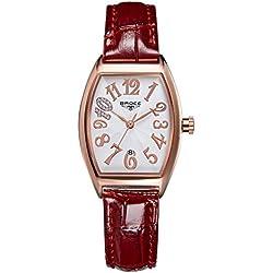 ladies waterproof watches/Retro calendar leather strap watch/Leisure quartz watch-I