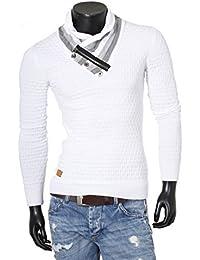 Redbridge Herren Pullover Grobstrick Sweatshirt Strickjacke