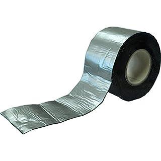 Bitumen Reparaturband | Farbe Alu, Blei, Kupfer | 50, 75, 100, 150, 200, 225, 300, 600 mm x 10 Meter