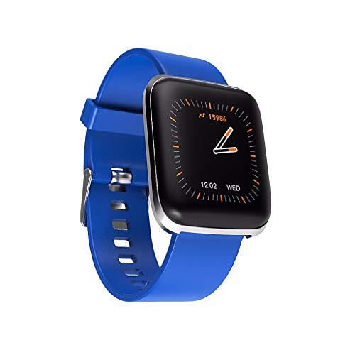 Elospy Smartwatch Fitness Armband mit Pulsmesser Blutdruck FitnessTracker 8 Sportarten Pulsuhren Blutdruckmesser Schrittzähler Smart Watch mit Schlaf Monitor Kamera Romte für Damen Männer