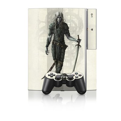 mygift-dark-elf-design-protector-skin-decal-sticker-for-ps3-playstation-3-body-console