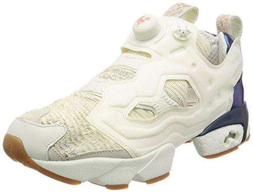 Reebok Pump Instapump Fury CNY17 Herren Running Trainers Sneakers (UK 6 US 7 EU 39, Chalk Classic White Rose BD2026)