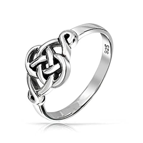 Bling Jewelry Sterling Silber 925 Irish Celtic Love knot Ring