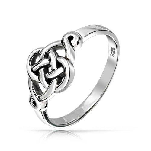 Bling Jewelry pendentif en argent anneau nœud amour celtique irlandais