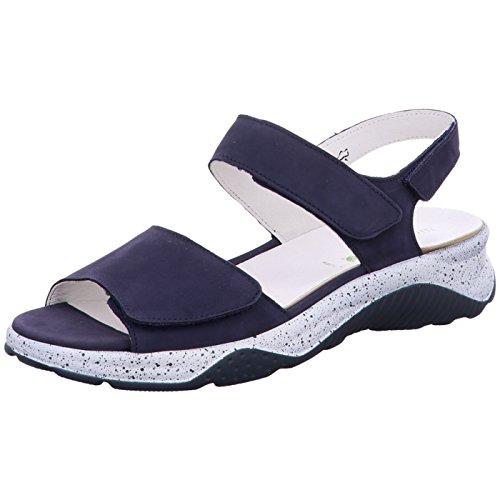 Waldläufer Damen Sandaletten Hida,Blue 936001/162 200 blau 470747