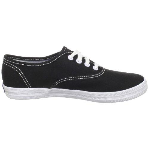 Keds kids CHAMP CVO KY34120 Unisex-Kinder Sneaker Schwarz (Black/White)