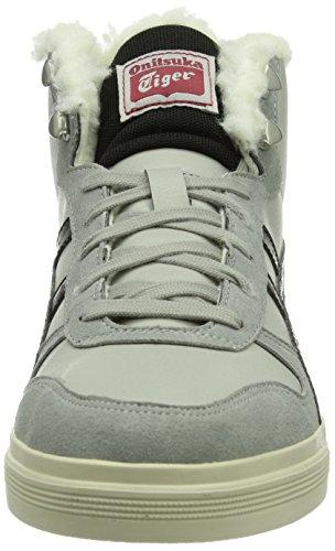 Onitsuka Tiger Aaron Mt, Baskets mode mixte adulte Gris (Light Grey/Black 1390)