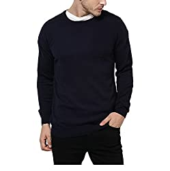 Yepme Craig Sweater - Blue --YPMSWEATER0082_M