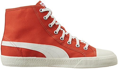 Puma Puma Ibiza Mid Nm #1 Unisex, Hi-Top Slippers mixte adulte Rouge - Rot (poinciana 03)