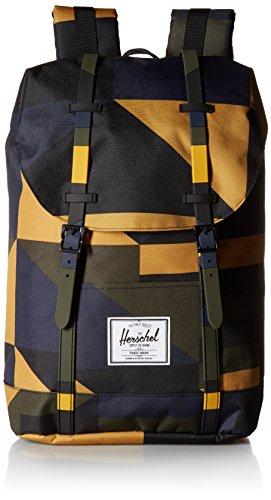Herschel Retreat Rucksack dunkelblau/gelb, OneSize