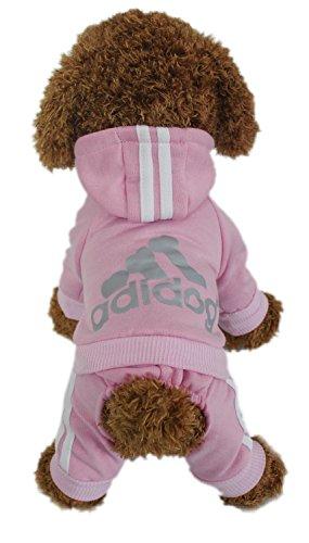 Kleider Hund (LifeWheel Hundemantel Warm Wintermantel Haustier Mantel Hund Kleider, pink)