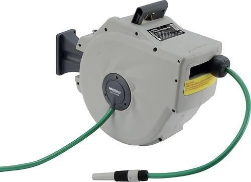 H&M Enrouleur automatique portatif pour tuyau d'arrosage 20 m