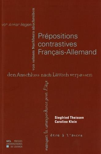 Prépositions contrastives Français-Allemand