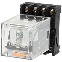 DealMux a13042600ux0036 MK2P-I bobina 3PDT 11 pinos eletromagnético Relé com PF083A Base, DC 24V