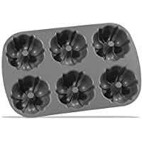Nordic Ware Mini Bundt Pan - 6 Forms by Nordic Ware