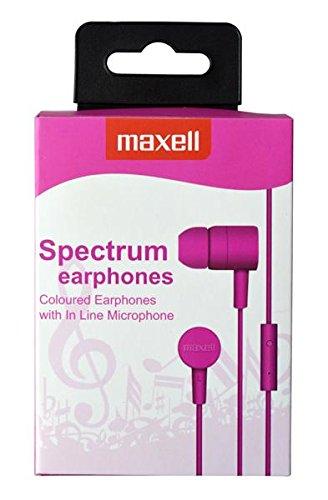 Maxell 303620 Spectrum Ohrhörer (3,5 mm Klinke) pink -