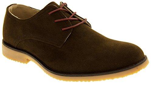 Classics Hommes Zapatos de Gamuza de Imitación Marron