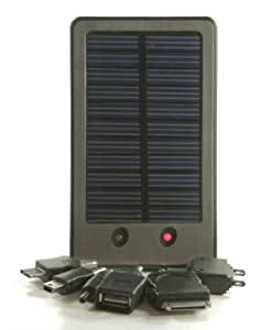 Solar Boost Solar Powered Mobile Phone Charger iPhone 2G 3G 3s 4 / Almost All Mobile Phones / Kindle / PSP's / Nintendo DS / Tom Tom / Mp3 players + More