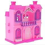 XuBa Dollhouse Kleines Haus Modell Mini 1:12 Puppenhaus Zubehör für Doll Puppe