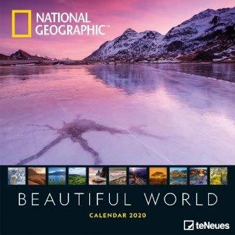 Beautiful World - Broschurkalender - Kalender 2020 - teNeues-Verlag - National Geographic - Wandkalender mit faszinierenden Tieren und Platz für Eintragungen - 30 cm x 30 cm (offen 30 cm x 60 cm) -