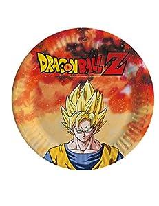 comogiochi plato 18cm Dragon Ball Z, Multicolor, 5cg82006