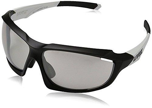 Uvex Erwachsene sportstyle 710 vm Sportbrille, black mat white, One Size