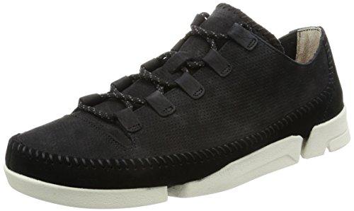 clarks-originals-trigenic-flex-2-black-leather-mens-trainers-7-uk