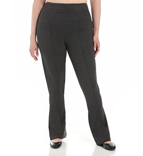 Lyssé Damen Leggings Gr. X-Small, anthrazit (Ponte Pants Leg Wide)