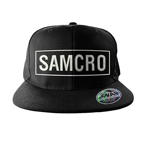 Sons of Anarchy Samcro Embroidered Logo offiziell Snapback Baseball Cap