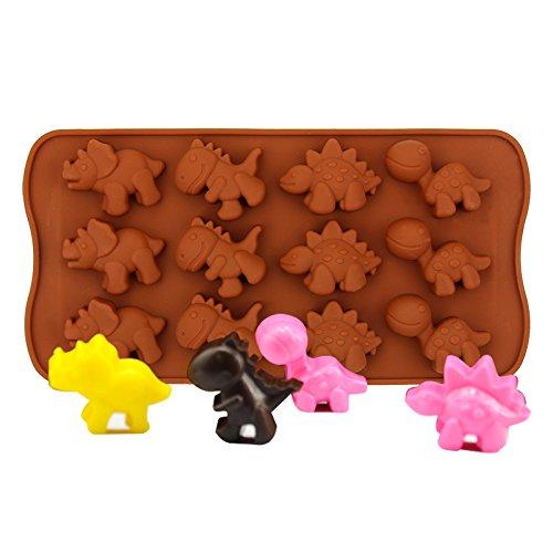 Silikon Fondantform Kuchen Dekor Handwerk Zucker Schokolade Form Dinosaurier - Dinosaurier-kuchen-form