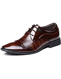 Zapatos De Hombre De Negocios Trajes Zapatos Cuero Encajes Charol Zapatos De Boda