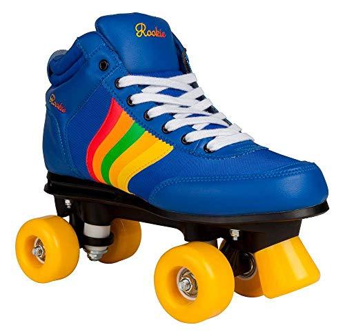 Rookie Rollerskates Forever Retro Rollschuhe Unisex Kinder blau (Navy), 2 Kinder