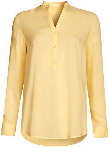oodji-collection-womens-basic-viscose-blouse-yellow-uk-16-eu-46-xxl
