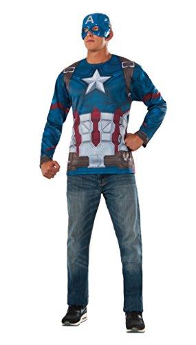 Camiseta Capitan America Ad (Rubies 810912)