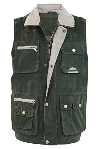 qualita-premium-da-uomo-multi-tasca-gilet-giacca-top-per-pesca-caccia-escursionismo-safari-gilet-gil