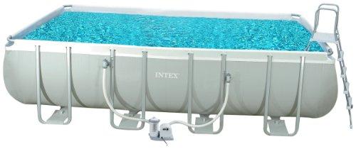 Intex 54482GS - Rahmenpool-Set rechteckig circa 549 x 274 x 132 cm mit Pumpe