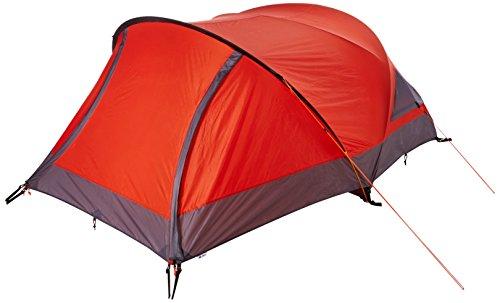 10T Silicone Biker - 2-Personen Touren-Geodät-Zelt mit großer Apsis silikonisiert Alu-Gestänge Packmaß ø18x45 WS=5000mm