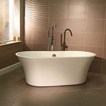 Montreux Freestanding Bath Bathroom Black Bathtub: Amazon.co.uk: DIY ...
