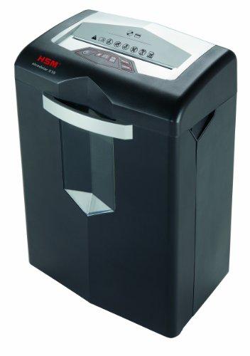 Aktenvernichter HSM shredstar X15, Sicherheitsstufe 4, 15 Blatt (Partikelschnitt) mit CD-Schredder