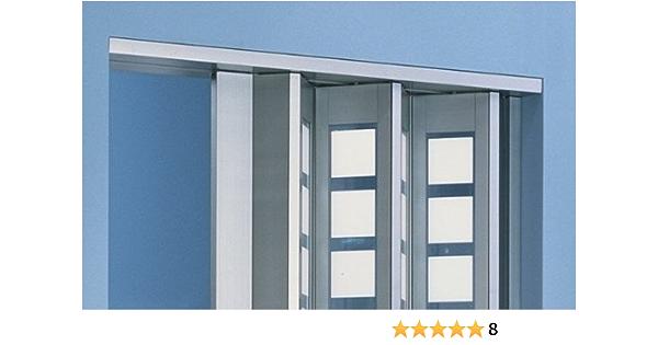 weiss ohne Fenster B 15,5 x H 202 cm Zusatzlamelle für Falttür Luci Fb