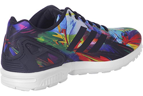adidas ZX Flux, Chaussures de course homme Negro / Amarillo / Rojo / Blanco